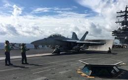 Mỹ điều tiêm kích xua oanh tạc cơ Nga khỏi tàu sân bay Ronald Reagan