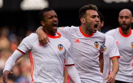 """Nani """"báo thù"""" thành công, Valencia bất ngờ quật ngã Real Madrid"""