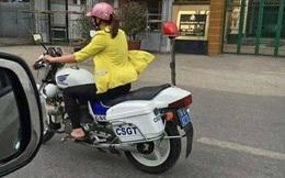 Cô gái đi dép lê lái xe đặc chủng của CSGT: 'Chắc chúng tôi phải đề nghị cho ngồi sau'