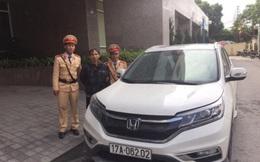 Xe ô tô ăn trộm ở Thái Bình chạy về đến Quảng Ninh thì bị tóm gọn