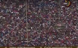 Hàng chục nghìn người Zimbabwe hò reo vui mừng trong buổi lễ nhậm chức của Tân Tổng thống