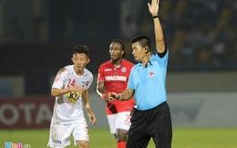 HLV Quảng Ninh khen cầu thủ HAGL, chê trọng tài