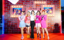 Đông Nhi đẹp nổi bật trong ngày ra mắt sản phẩm mới của nhóm Lip B