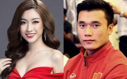 """Hoa hậu Mỹ Linh cần """"tính toán"""" kỹ nếu hẹn hò thủ môn Tiến Dũng"""