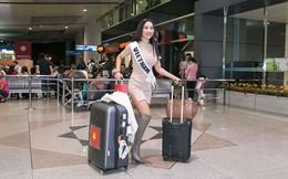 Á hậu Kiko Chan sang Trung Quốc tham dự Miss Globe 2018