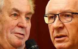 Cơ hội chia đều cho hai ứng cử viên tổng thống Séc