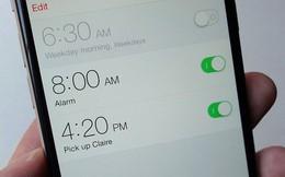 5 lý do dưới đây sẽ khiến bạn quyết định ngừng dùng smartphone thay cho đồng hồ báo thức
