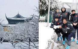 Thời tiết Trung Quốc tiếp tục chuyển lạnh, báo chí đưa tin hôm 27, nhiệt độ chỉ còn từ -3 đến 0 độ C