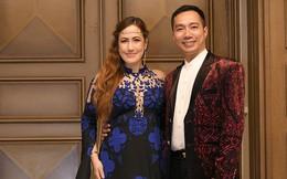 """Sao """"Người đẹp và quái vật"""" diện áo dài, chụp ảnh cùng nhà thiết kế Đỗ Trịnh Hoài Nam"""