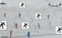 Chúng ta hình như xem nhầm trận chung kết trượt băng nghệ thuật kết hợp tâng bóng rồi!