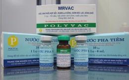 Lần đầu tiên sử dụng vaccine do Việt Nam sản xuất