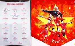 Loạt chữ ký của U23 Việt Nam khiến dân mạng bàn tán sôi nổi
