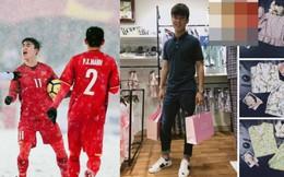 Ngoài Hồng Duy, U23 Việt Nam còn có một hot boy khác bán quần áo rất chăm chỉ