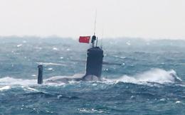 Tàu ngầm hạt nhân Trung Quốc bẽ mặt vì nổi gần Nhật Bản
