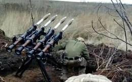 """""""Pháo phản lực phóng loạt"""" tự chế từ RPG-7 siêu độc đáo của Ukraine"""