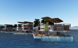 Chiêm ngưỡng loạt ảnh mô phỏng cuộc sống ở những thành phố nổi trên mặt nước trong tương lai