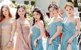 Dàn phù dâu hot nhất Vịnh Bắc Bộ: Trâm Anh được khen xinh nhưng các cô gái khác cũng rạng ngời không kém!