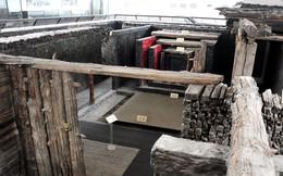 Bí hiểm lâu đài gỗ khổng lồ ẩn trong những gò đất giữa cánh đồng Hải Dương