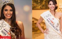 Chỉ vài ngày sau khi đến Việt Nam, đối thủ của Trần Tiểu Vy đã bị truất ngôi vị Hoa hậu Áo