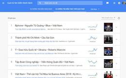 Bphone 3, Nguyễn Tử Quảng, Bkav, Việt Nam là những từ khoá hot nhất trên mạng ngay lúc này