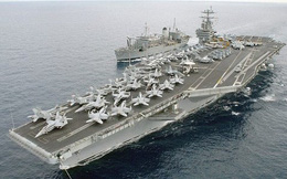 Mỹ rút nhóm tàu sân bay tham gia không kích ở Syria khỏi Địa Trung Hải