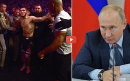 """Tiếp đón trọng thị, Tổng thống Putin còn nói điều bất ngờ về vụ Khabib """"tẩn"""" McGregor"""