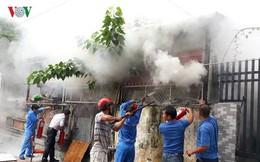 """Lửa thiêu quán cà phê, """"bà hỏa"""" ghé thăm chung cư ở Đà Nẵng"""