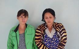 2 chị em ruột chở con gái đi trộm cắp tài sản