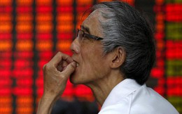 Hơn 1.000 cổ phiếu Trung Quốc giảm kịch sàn 10%