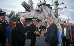 """Tàu khu trục Mỹ chất đầy tên lửa Tomahawk cập cảng Israel: """"Dằn mặt"""" Iran, cảnh báo Nga?"""