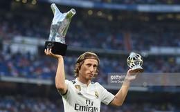 """Hazard tin Luka Modric đoạt danh hiệu """"Quả bóng vàng"""""""