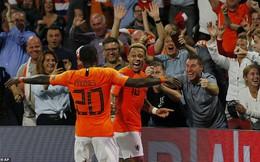 Cựu sao Man United tỏa sáng, giúp Hà Lan vùi dập khó tin Đức