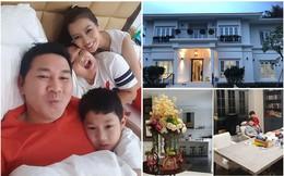 Căn biệt thự bề thế, đắt đỏ của Hoa khôi Thu Hương và chồng đại gia