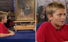 Mua bức tranh chỉ 2 USD, vài tháng sau cậu bé nhận được một bất ngờ nằm ngoài tưởng tượng