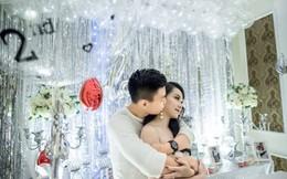 Bạn gái Vũ Văn Thanh hạnh phúc ngất ngây trong đêm kỷ niệm 3 năm yêu nhau