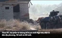 Video: Đặc nhiệm Nga đột kích tiêu diệt 2 tay súng khủng bố