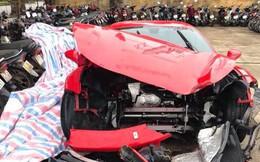 Thêm hình ảnh chưa biết vụ siêu xe 16 tỷ của Tuấn Hưng gặp nạn thảm khốc
