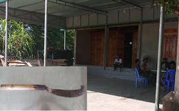Thợ xây chém gục thợ mộc tại buổi tân gia của chủ nhà