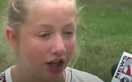 Thấy em gái bị người lạ bắt đi, cô bé 13 tuổi đã nhanh trí làm 1 việc cứu em khỏi nguy hiểm