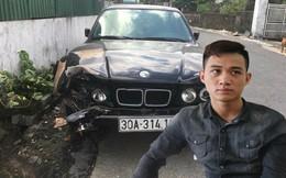 Trộm xe BMW khi đến nhà bạn chơi, trên đường đi bán thì bị tai nạn