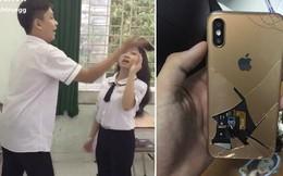 Học sinh Sài Gòn làm vỡ iPhone X khi diễn lại cảnh hất điện thoại kinh điển trong Hậu Duệ Mặt Trời