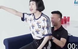 Cầu thủ vừa bị gạch tên khỏi U19 Việt Nam gây phản cảm với hình ảnh 18+ ở Dare Pong