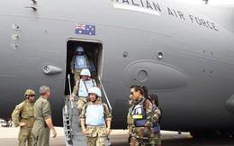 Đội hình xuất quân đợt 2 Bệnh viện Dã chiến Việt Nam tới Nam Sudan