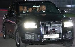 Video: Tổng thống Putin lái xe đưa Tổng thống Ai Cập thăm đường đua F1