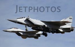 Lộ ảnh máy bay tiêm kích tầm xa MiG-31D mang tên lửa chống vệ tinh