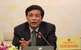 Tổng thư ký QH: Đề nghị Bộ Công an xác minh thông tin cán bộ đoàn ĐBQH bị nhắn tin khủng bố