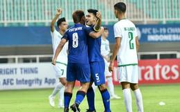 """""""Chết đi sống lại"""" đúng phút 90+4, HLV U19 Thái Lan vẫn thất vọng tràn trề"""