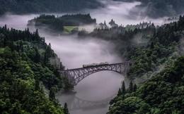 """Tadami Line: Chuyến tàu hỏa """"nhỏ xinh"""" nhất Nhật Bản, đi qua 4 mùa là 4 khung trời khác nhau"""