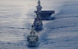 Nhật Bản tung tàu chiến lớn nhất vào Ấn Độ Dương để đối phó Trung Quốc