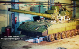 """Siêu tăng Object 195: Sát thủ của """"Abrams"""" và """"Leopard"""" vén bức màn bí mật"""